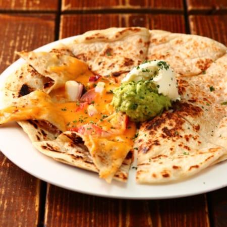 メキシカン海鮮チーズの挟み焼き